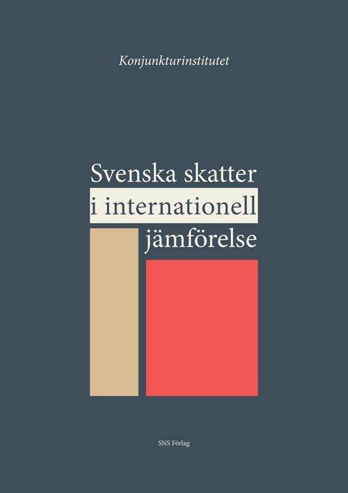 Svenska skatter i internationell jämförelse